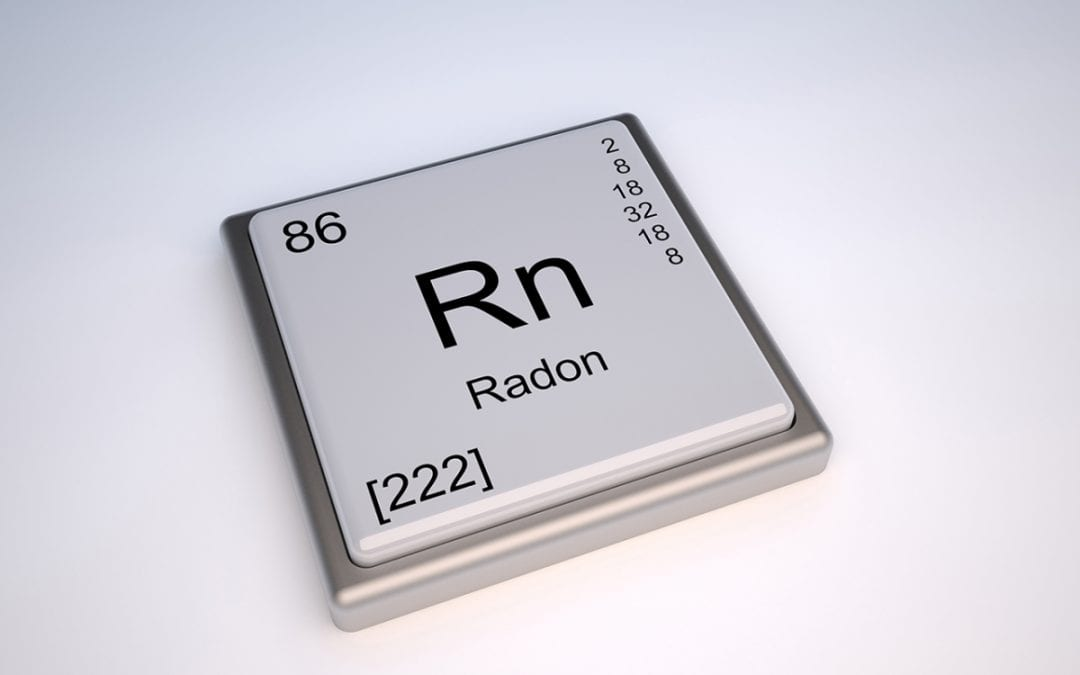 radon testing in homes